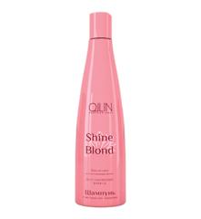 OLLIN shine blond шампунь с экстрактом эхинацеи 300мл