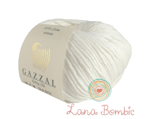 Пряжа Gazzal Baby Cotton XL белый 3432