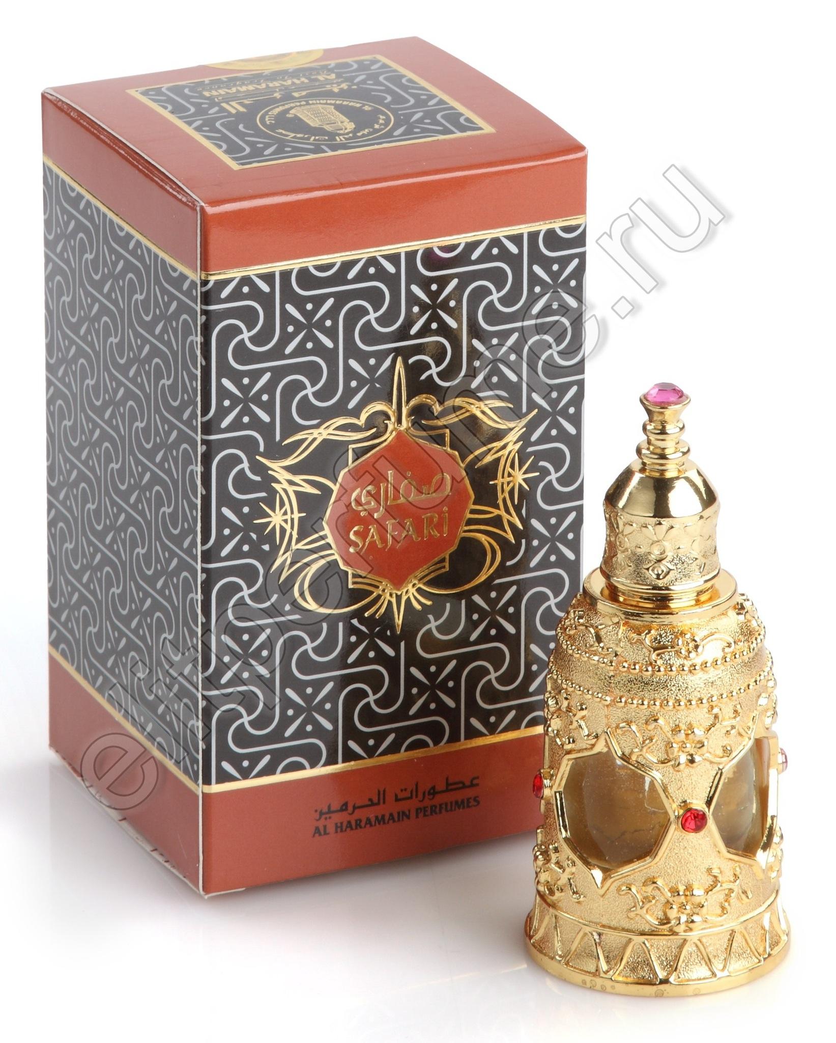 Пробники для духов Сафари Safari 1 мл арабские масляные духи от Аль Харамайн Al Haramin Perfumes