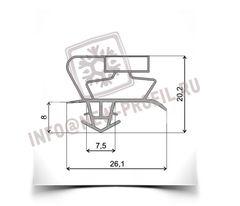 Уплотнительный профиль_017 (тип СК) для холодильного оборудования.