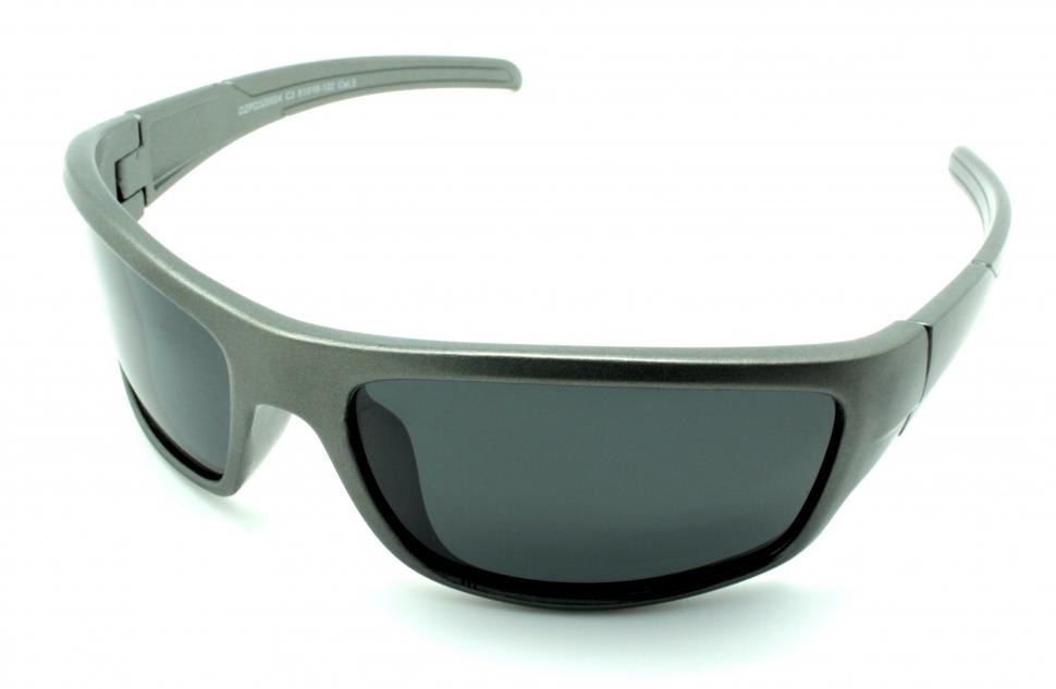 Очки поляризационные для рыбаков туристов водителей DARIO DZP320024C3 серые 11%