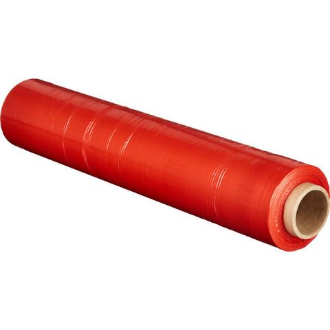 Стрейч-пленка для ручн.упак 180% 23 мкм 50 смx190м красная 2кг нетто