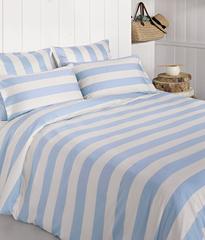 Постельное белье 2 спальное евро Bovi Weekend голубое