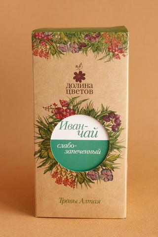 Иван-чай  слабо запеченный в коробке 50г