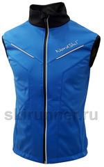 Лыжный жилет Nordski Premium 2018 Blue-Black
