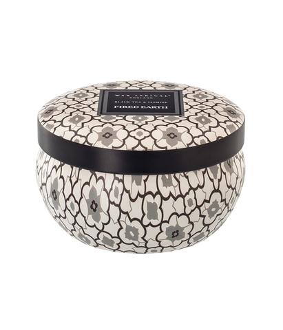 Свеча ароматическая в алюминиевой банке Черный чай и жасмин, Wax Lyrical