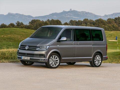 Чехлы на Volkswagen T6 микроавтобус Multivan / Caravelle / Transporter 2015–2018 г.в.