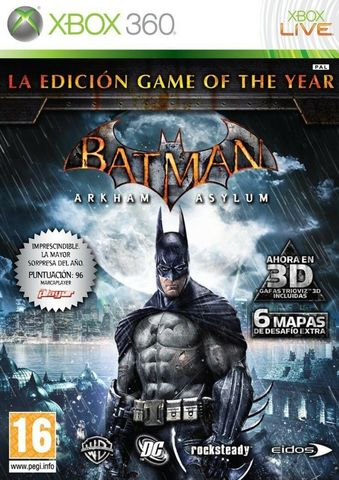 Xbox 360 Batman Arkham Asylum - Game of the Year Edition (английская версия)