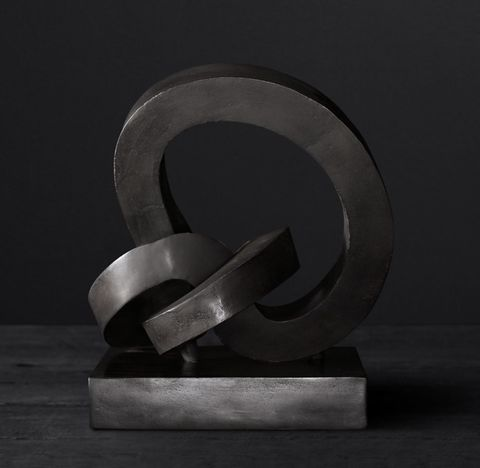Cast Metal Abstract Скульптуры 2