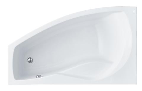 Акриловая ванна Santek Майорка 150х90 L асимметричная белая 1WH111984