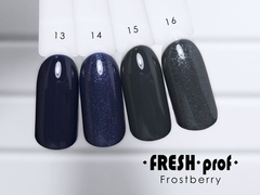 Гель-лак  Fresh prof Frost Berry FB №13