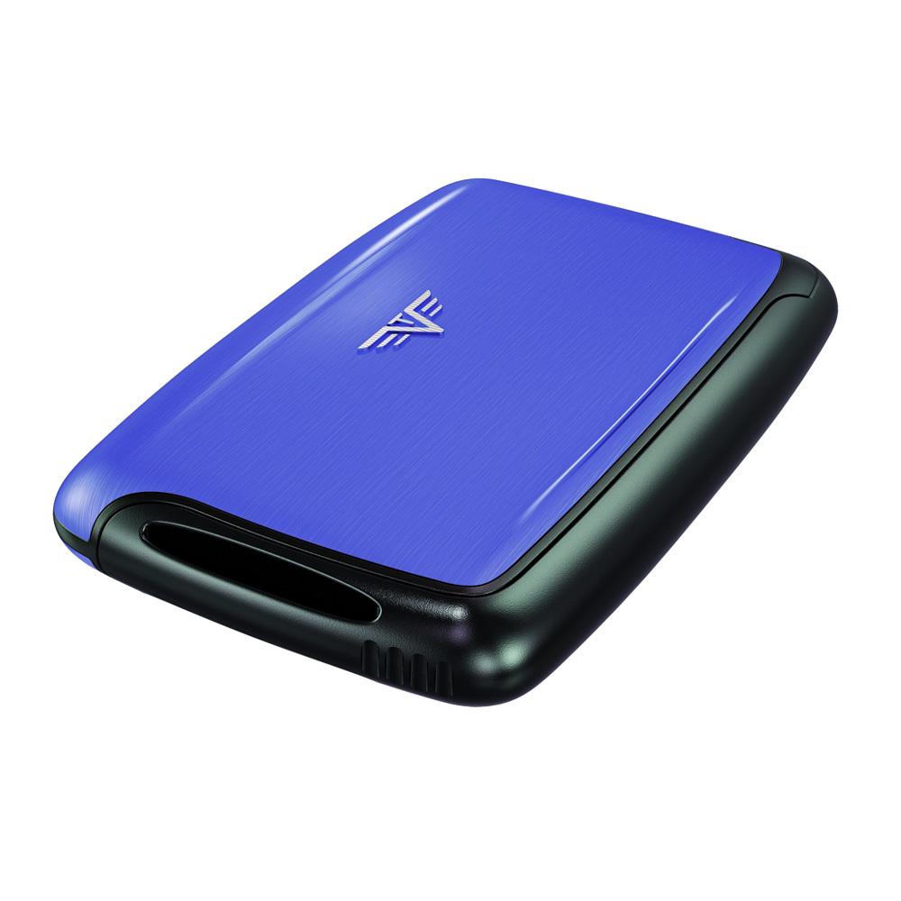 Визитница c защитой Tru Virtu PEARL, цвет светло-синий , 104*67*17 мм