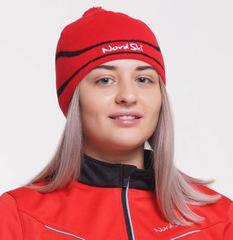 Лыжная шапка Nordski Line Red
