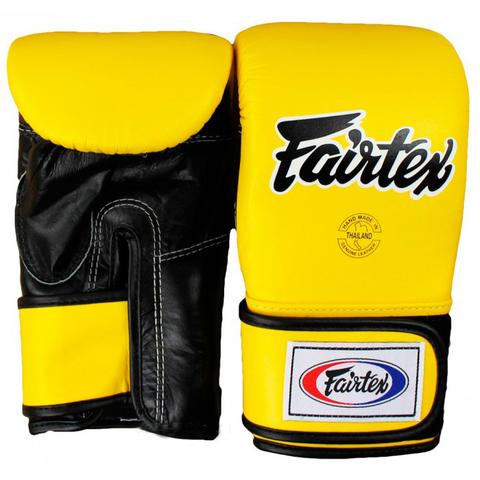 Перчатки снарядные Fairtex Bag gloves TGT7 Yellow