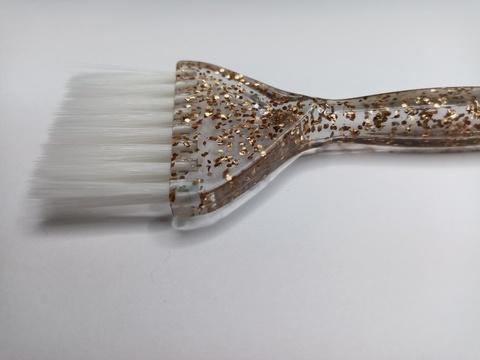 Кисточка Ставвер Голд для окрашивания с белым ворсом 21,5*4,5см