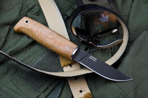 Туристический нож Норд Черный Орех