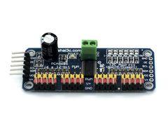 Модуль управления сервоприводами 16-канальный, I2C