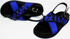 Синие сандалии Alba 501 87O Y.