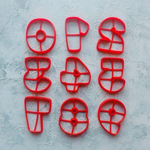 Набор Цифр Арко форма для пряника