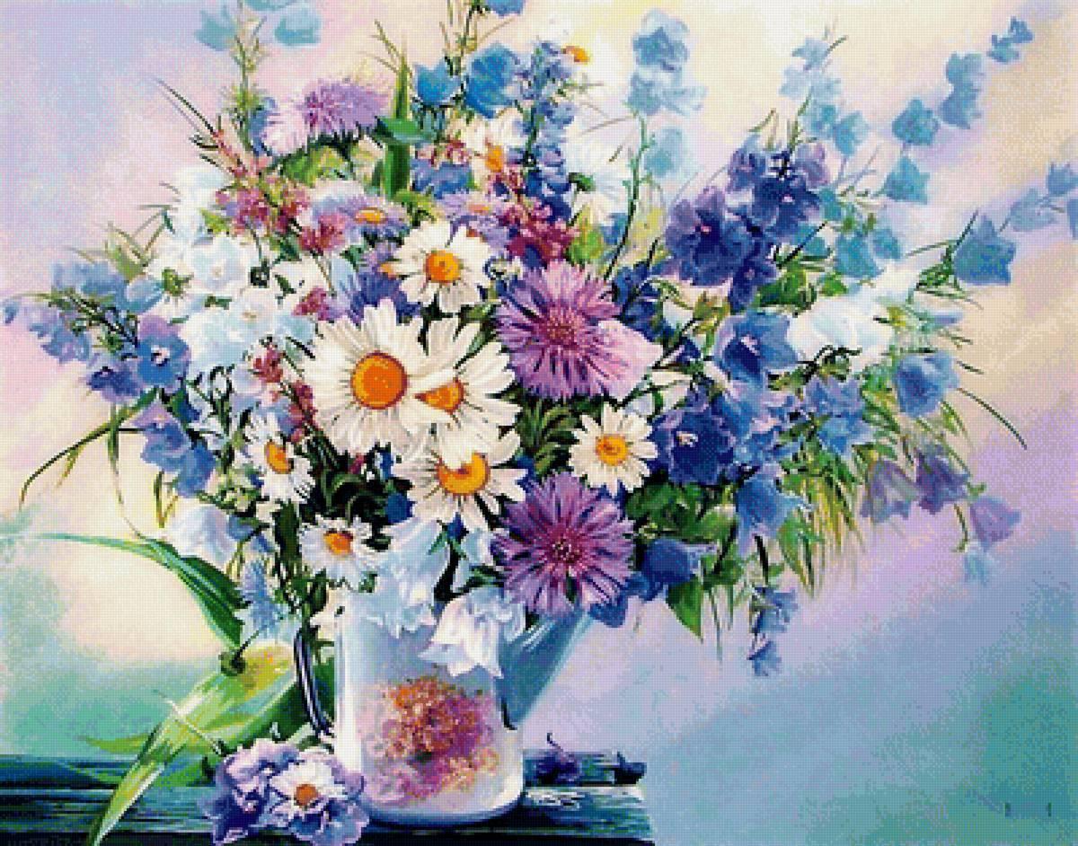 Какой, открытка с днем рождения цветы полевые