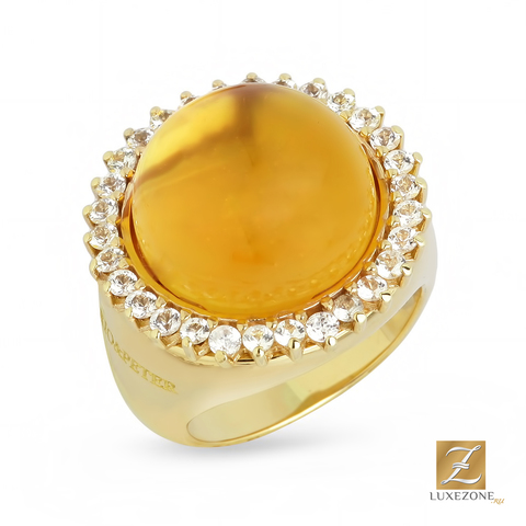 Dario&Peter Ring Kate Baby Citrine YG