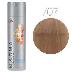 Wella Magma /07 (Натуральный коричневый) - Цветное мелирование