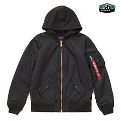 Бомбер Alpha Industries L-2B Natus Black