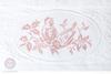 Полотенце 70х140 Devilla Птички белое/розовое