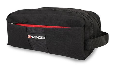 Несессер WENGER, цвет чёрный, полиэстер, 27x15x15 см