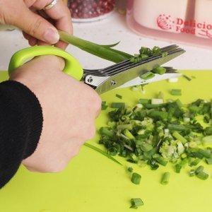 Товары для кухни Ножницы для зелени с 5 лезвиями 896_2.jpg