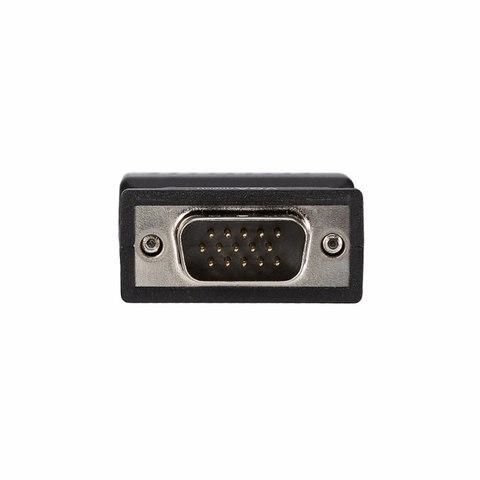 Конвертер VGA с аудио 3.5 jack в HDMI - converter 5 В питание