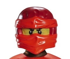 Лего Ниндзяго Кай детская Маска — Ninjago Kai Lego Child Mask