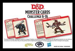 Monster Card Deck Levels 6-16