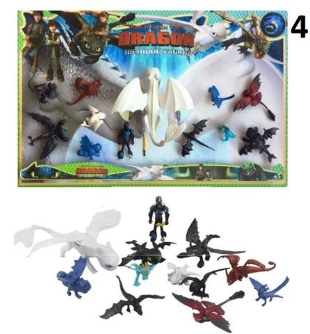 Как приручить дракона 3 набор игрушек Иккинг и драконы