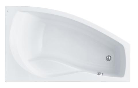 Акриловая ванна Santek Майорка 150х90 R асимметричная белая 1WH111985