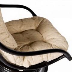 Кресло-качалка вращающееся Кози (Cozy) Античный коричневый