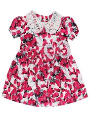 692-1 платье детское, малиновое