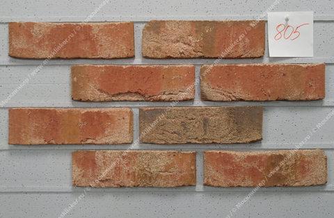 Roben - Moorbrand, lehm bunt, NF14, 240x14x71 - Клинкерная плитка для фасада и внутренней отделки