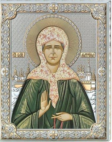 Икона Св Матрона Московская (12*16)