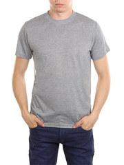 5105-8 футболка мужская, серая