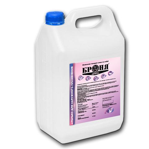 Дезинфицирующее средство Броня 5л (антисептик для рук и поверхностей, антибактериальный состав, гель, спрей, санитайзер, раствор)