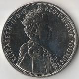2012 P3149 Великобритания 5 фунтов 60 лет правления Елизаветы II