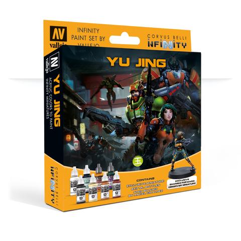 Набор красок Vallejo: Yu Jing, с эксклюзивной миниатюрой