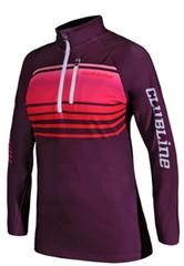 Элитный флисовый джемпер Noname Clubline Breeze Shirt Violet женский