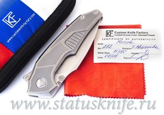 Нож Muscle сатин CKF and Tashi Bharucha Limited