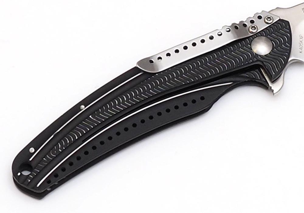 Нож CRKT Ripple Charcoal K405KХP