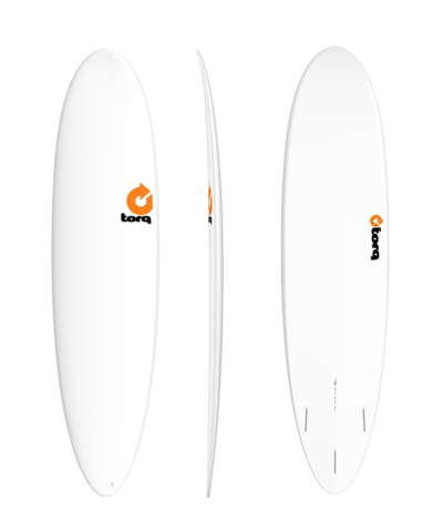 Серфборд TORQ TET Fun 7'6'' - Plain White