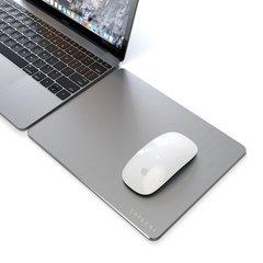 Коврик Satechi Mouse Pad для мыши, алюминий, серый космос