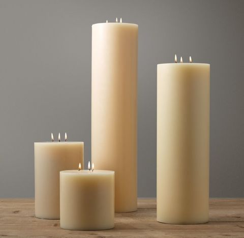 3-Wick Pillar Candle