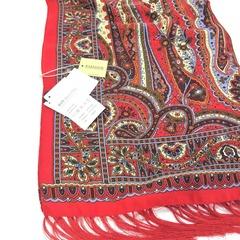 Шарф красных оттенков в Русском стиле, магазин aksisur.ru